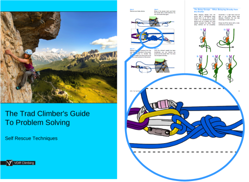 First Additional product image for - VDiff Trad Climber's Guide To Problem Solving