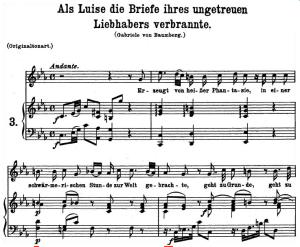 Als Luise die briefe K.520, Medium Voice in C minor, W.A. Mozart., C.F. Peters (Friedlaender). A4 | eBooks | Sheet Music
