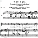 "Un moto di Gioia, ""Schon klopfet mein liebender busen"" K.579, Medium or Low Voice in F Major, W.A. Mozart., C.F. Peters (Friedlaender). A4 | eBooks | Sheet Music"