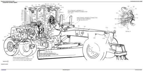 First Additional product image for - John Deere 570B Motor Grader Diagnostic, Operation and Test Service Manual (tm1399)