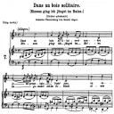 Dans un Bois solitaire K.308 295b, Low Voice in F Major, W.A. Mozart., C.F. Peters (Friedlaender). A4   eBooks   Sheet Music