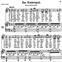 Das Kinderspiel K.498, Low Voice in G Major, W.A. Mozart., C.F. Peters (Friedlaender). A4   eBooks   Sheet Music