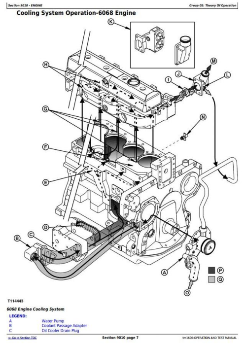 Second Additional product image for - John Deere 670C, 670CH, 672CH, 770C, 770CH, 772CH Motor Grader Diagnostic Service Manual  (tm1606)