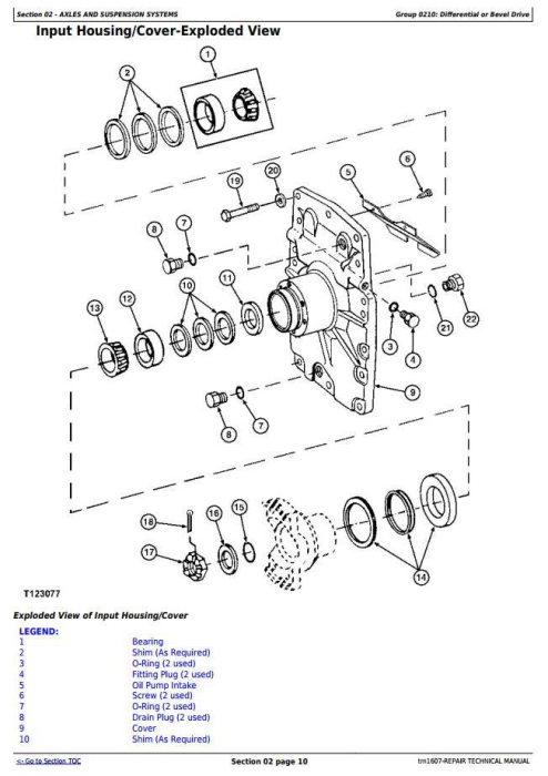 Third Additional product image for - John Deere 670C, 670CH, 672CH, 770C, 770CH, 772CH Motor Grader Repair Technical Manual (tm1607)