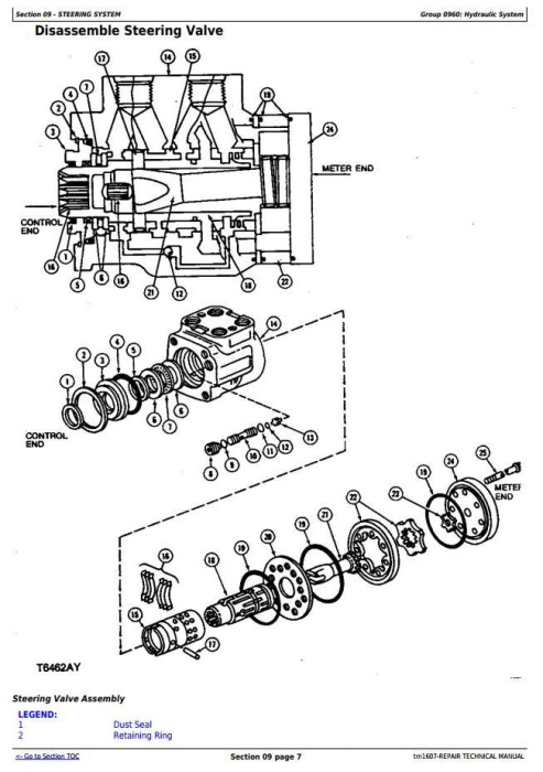 Fourth Additional product image for - John Deere 670C, 670CH, 672CH, 770C, 770CH, 772CH Motor Grader Repair Technical Manual (tm1607)