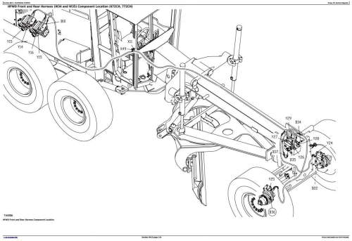 First Additional product image for - John Deere 670C, 670CH, 672CH, 770C, 770CH, 772CH  Series II Motor Grader Diagnostic Manual (TM1914)
