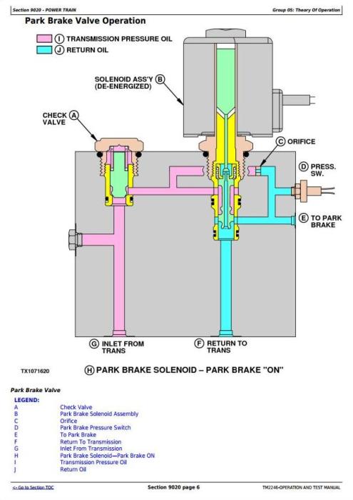 Third Additional product image for - John Deere 670D, 672D, 770D, 772D, 870D,872D Motor Grader Diagnostic & Test Service Manual  (TM2246)