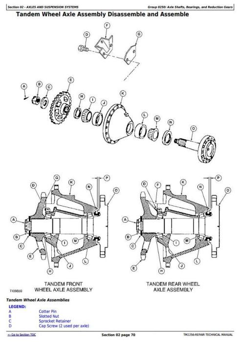 Third Additional product image for - John Deere 670D, 672D, 770D, 772D, 870D, 872D Motor Grader Service Repair Technical Manual (TM2256)