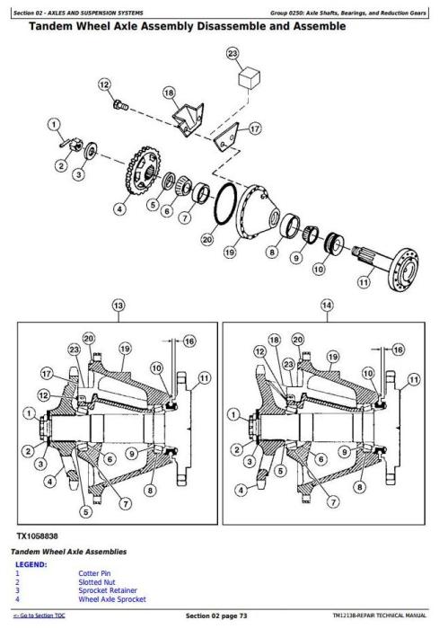 Second Additional product image for - John Deere 670G, 670GP, 672G, 672GP (SN.634754—656507) Motor Grader Service Repair Manual (TM12138)
