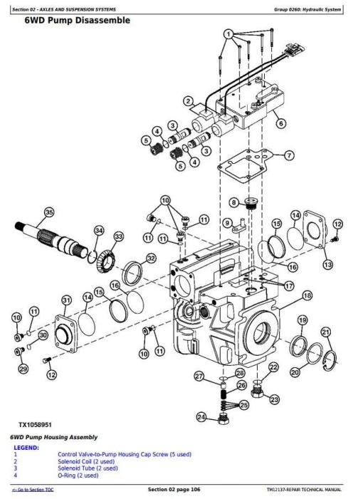 Third Additional product image for - John Deere 670G, 670GP, 672G, 672GP(SN.634380—656507) Motor Grader Repair Technical Manual (TM12137)
