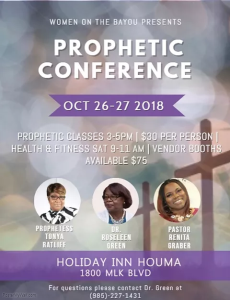 Prophetic Conference 2018 Speakers (bundle) | Other Files | Everything Else