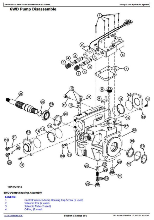Second Additional product image for - John Deere 670G,670GP,672G,672GP (SN.F656526—678817) Motor Grader Service Repair Manual (TM13025X19)