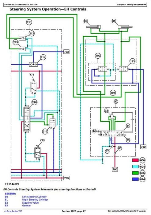 Fourth Additional product image for - John Deere 670G, 670GP, 672G, 672GP Motor Grader (SN.656729-) Diagnostic Service Manual (TM13065X19)