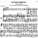 Die Kleine Spinnerinn K.531, Low Voice in B-Flat Major, W.A. Mozart., C.F. Peters (Friedlaender). A4 | eBooks | Sheet Music