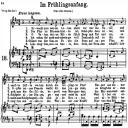 Im Frühlingsanfang K.497, Low Voice in D Major, W.A. Mozart., C.F. Peters (Friedlaender). A4 | eBooks | Sheet Music