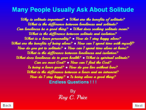 Digital Book of Solitude | eBooks | Psychology & Psychiatry