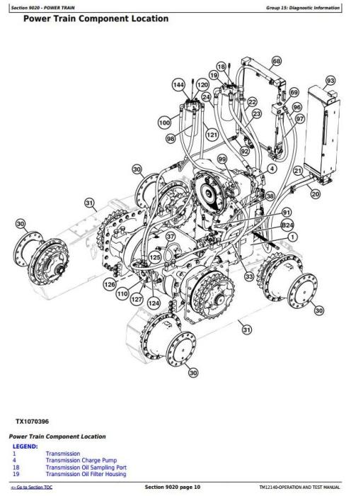 Third Additional product image for - John Deere 770G,770GP, 772G,772GP (SN.634754—656507) Motor Grader Diagnostic Service Manual(TM12140)