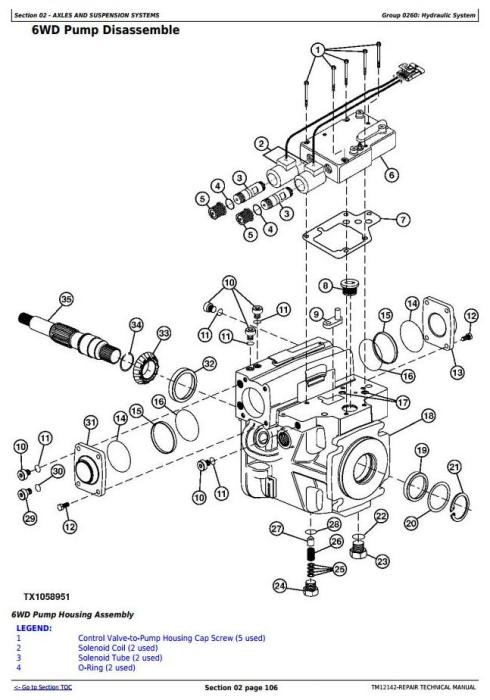 Third Additional product image for - John Deere 770G, 770GP, 772G, 772GP(SN.634754—656507) Motor Grader Repair Technical Manual (TM12142)