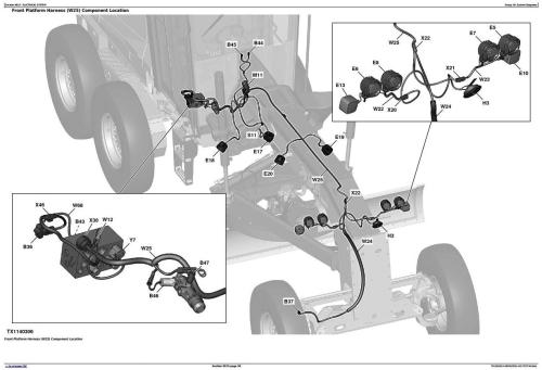 First Additional product image for - John Deere 870G, 870GP, 872G, 872GP (SN.F656526-678817) Grader Diagnostic Service Manual(TM13028X19)