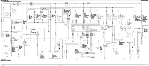 Third Additional product image for - John Deere 870G, 870GP, 872G, 872GP (SN.F656526-678817) Grader Diagnostic Service Manual(TM13028X19)