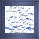 Faith Hebrews 11:10 - Chart   Crafting   Cross-Stitch   Other
