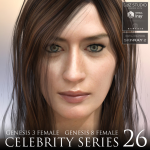 celebrity series 26 for genesis 3 and genesis 8 female