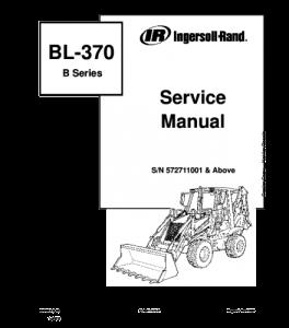 Download Bobcat Bl370 Bl375 Bl-370 Bl-375 Backhoe Loader Service Manual   eBooks   Automotive
