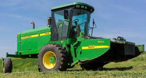 john deere 4995 self-propelled windrowers hay and forage diagnostic & tests service manual (tm2036)