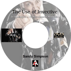 The Use of Invective  in Apologetics (MP3) | Movies and Videos | Religion and Spirituality