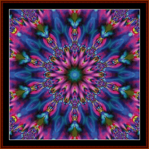 Fractal 712 cross stitch pattern by Cross Stitch Collectibles | Crafting | Cross-Stitch | Other