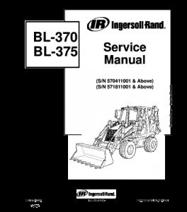 Download Bobcat Bl370 Bl375 Bl-370 Bl-375 Backhoe Loader Service Manual | eBooks | Automotive