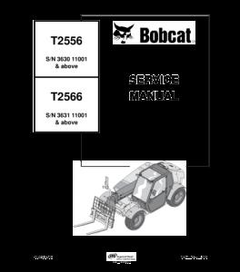 Download Bobcat T2556 T2566 Telescopic Handler Service Manual | eBooks | Automotive
