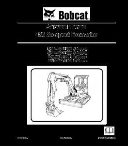 Download Bobcat 435 Compact Excavator Service Manual | eBooks | Automotive
