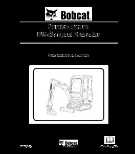 Download Bobcat E14 Compact Excavator Service Manual | eBooks | Automotive