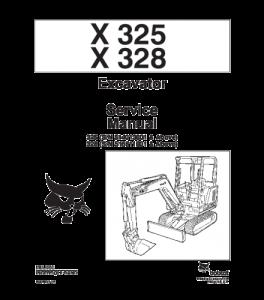 Download Bobcat X325 X328 Excavator Service Manual | eBooks | Automotive