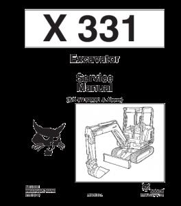 Download Bobcat X331 Excavaor Service Manual | eBooks | Automotive