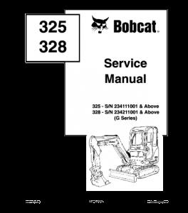 Download Bobcat 325 328 Compact Excavator Service Manual | eBooks | Automotive