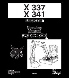 Download Bobcat X337 X341 Excavator Service Manual | eBooks | Automotive