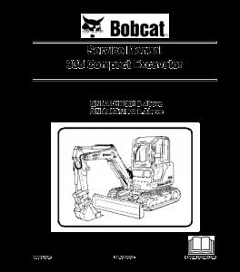 Download Bobcat 335 Compact Excavator Service Repair Manual 6986949 | eBooks | Automotive