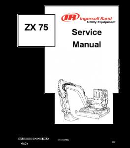 Download Bobcat Zx75 Excavator Service Manual | eBooks | Automotive