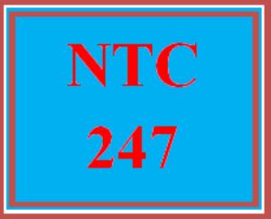 NTC 247 Entire Course | eBooks | Education
