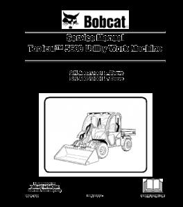 Download Bobcat Toolcat 5600 Work Machine Utility Vehicle Service Repair Manual   eBooks   Automotive