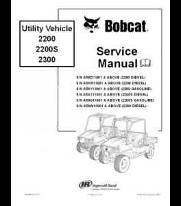 Download Bobcat Utility Vehicle Service Repair Manual   eBooks   Automotive