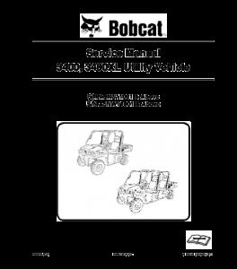 Download Bobcat 3400 3400xl Utility Vehicle Service Repair Manual | eBooks | Automotive