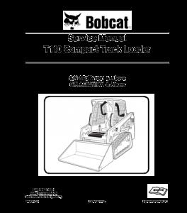 Download Bobcat T110 Compact Track Loader Service Repair Manual   eBooks   Automotive