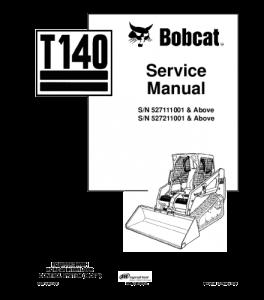 download bobcat t140 compact track loader service repair manual