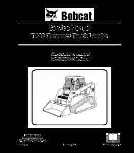 Download Bobcat T180 Compact Track Loader Service Repair Manual | eBooks | Automotive
