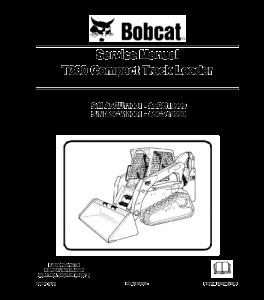 Download Bobcat T300 Compact Track Loader Service Repair Manual | eBooks | Automotive