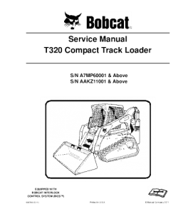 download bobcat t320 compact track loader service repair manual