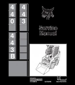Download Bobcat 440 443 443b Skid Steer Loader Service Repair Manual | eBooks | Automotive
